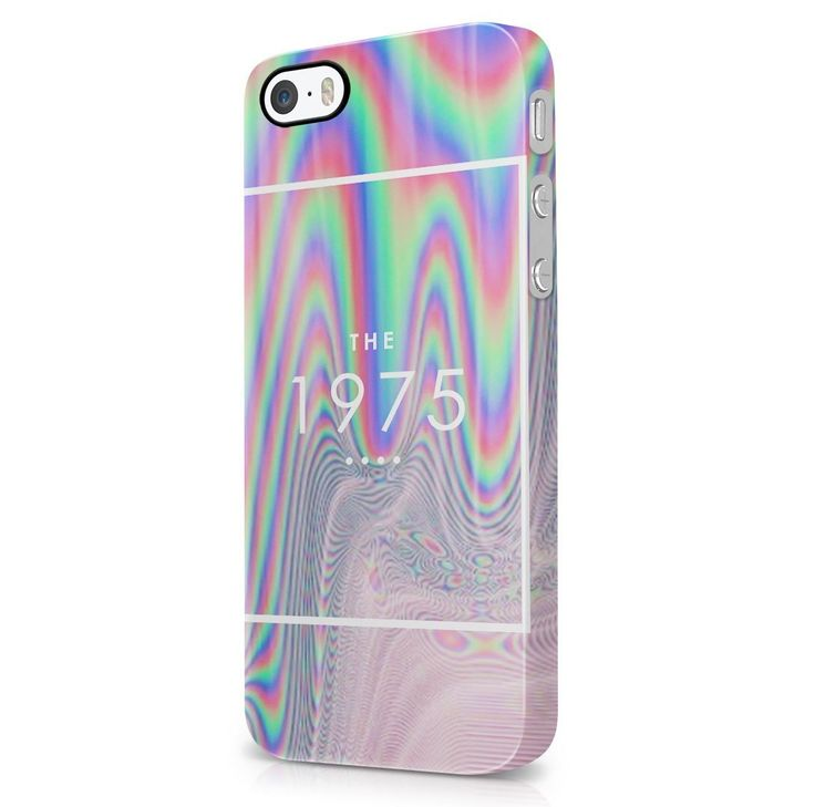 Amazon.com: The 1975 Colorful Rad Tye Dye Soap Film Trippy Holographic iPhone 5, iPhone 5S Hard Plastic Phone Case Cover: Cell Phones & Accessories