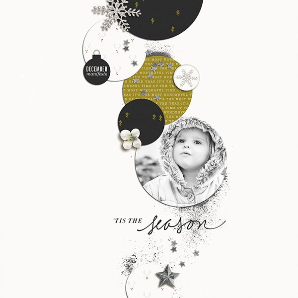 Layout by Susanne | There's Something About Merry | One Little Bird