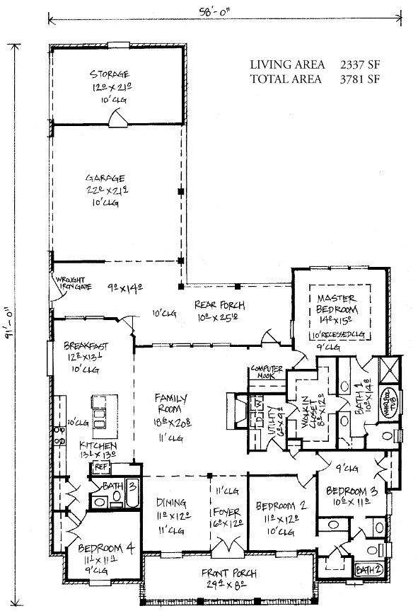 Hammond Louisiana House Plans Country French Home Plans House