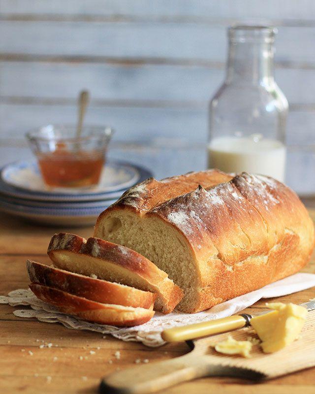 No-fail white bread recipe