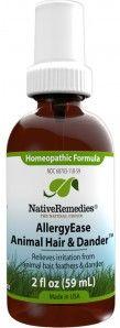 AllergyEase Animal Hair & Dander™ - Natural Allergy Relief  $34.95