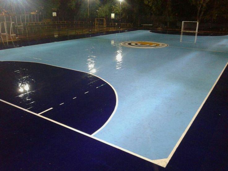 """""""EL MORUMBI"""" ...EL COLOSO, DE AGRONOMIA,EN EL CORAZON, DE LA CIUDAD AUTONOMA DE BUENOS AIRES.  Gentileza Futsal Club Comunicaciones"""