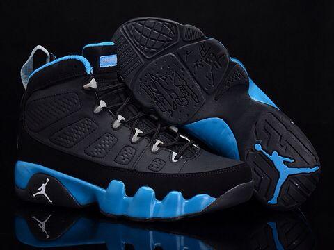 Jordan Retro 9 Shoes Chrismas Gift Edition Air Ix Mens Online Discount Black Blue