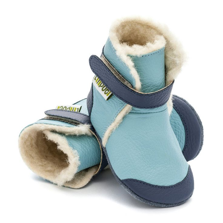 http://www.liliputibabycarriers.com/soft-leather-baby-boots/soft-soled-booties-eskimo-blue