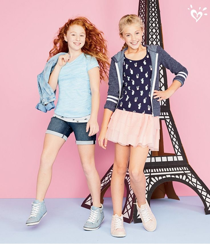 Skirts that twirl and wear-with-everything denim!