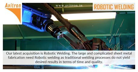 Avitron's new-age robotic welding systems brought in a high-level of repeatability, accuracy, and precision that were unheard of before. Robotic welding systems have helped us increase our productivity whilst reducing the welding lead time considerably. Welding range: #TIGWeld #MIG #Spot #Projection #Arc For more details contact us Email : info@avitron.in Visit : http://www.avitron.in/