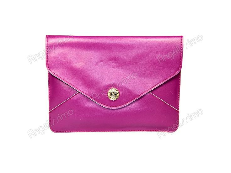 Клатч - конверт баклажан