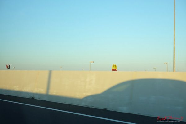 I'm exhibiting this Thursday, click through for details in Sydney! Art photograph  'Fast Food From the Freeway' by Kent Johnson.