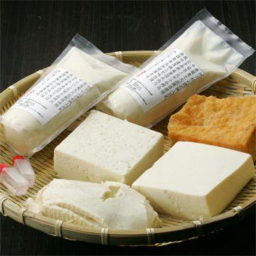 一響屋/4丁のいろいろ豆腐セット 2468yen 一響屋のお豆腐を丸ごと楽しむバラエティセット