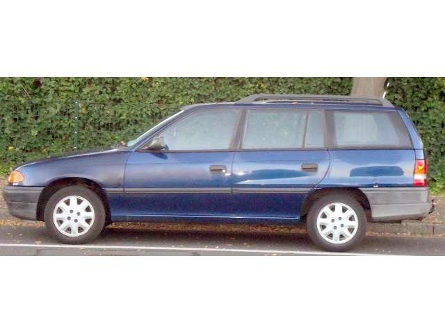 Gebrauchtwagen Angebot: Opel Astra Caravan 16V Club, € 2.200,-, Benzin, Schaltgetriebe von 08/1994 in Krefeld, 117.000 km, 74 kW
