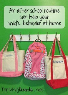 Have you ever wondered why your kids are angels at school but not at home? Here's why! This includes a printable.