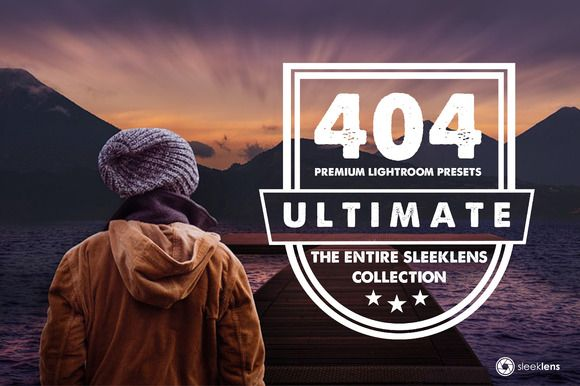 The Ultimate Lightroom Preset Bundle by Sleeklens on Creative Market