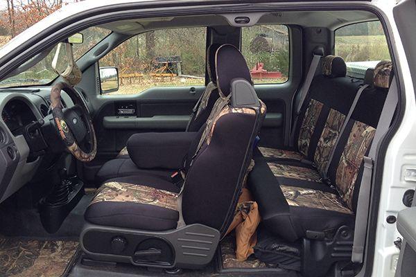 SKANDA Mossy Oak Camo Seat Covers - Mossy Oak Camouflage ...