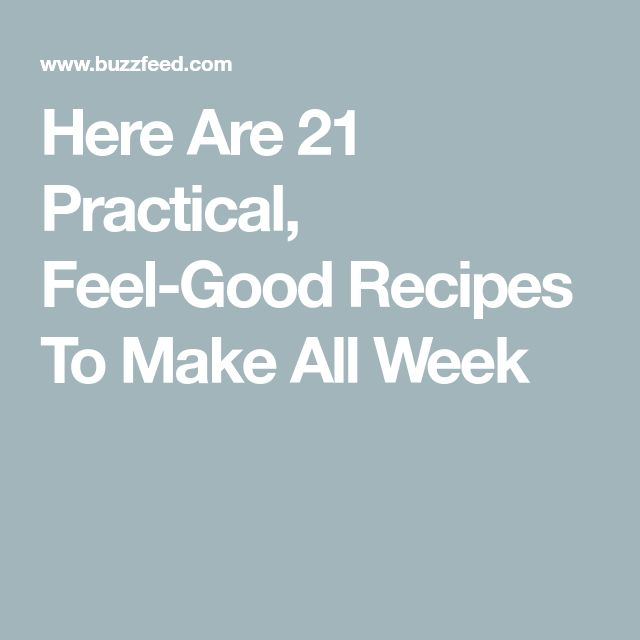 Here Are 21 Good-For-You Recipes To Make For Breakfast, Lunch, And Dinner – Erika Donnell