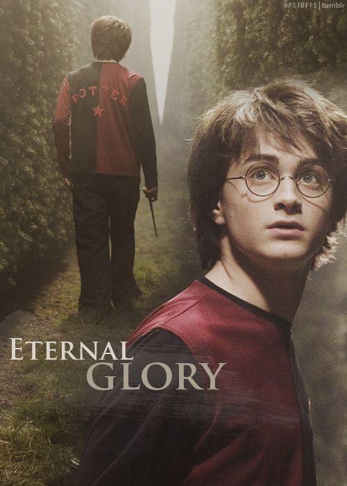 """I don't want eternal glory..."""
