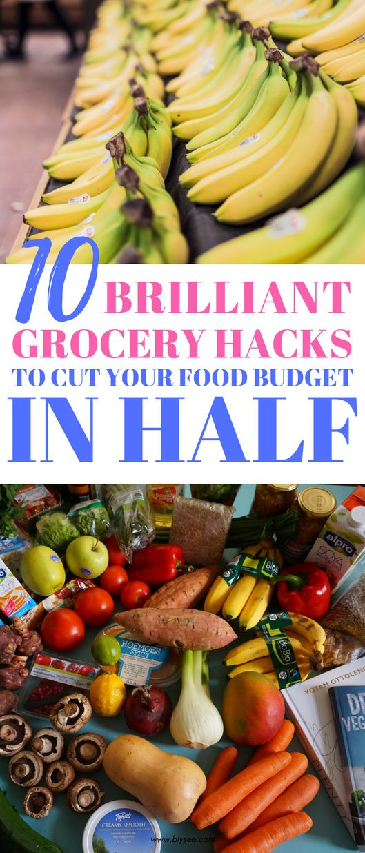 10 Tricks To Save Hundreds at The Grocery Store #onabudget #groceryshoppinghacks