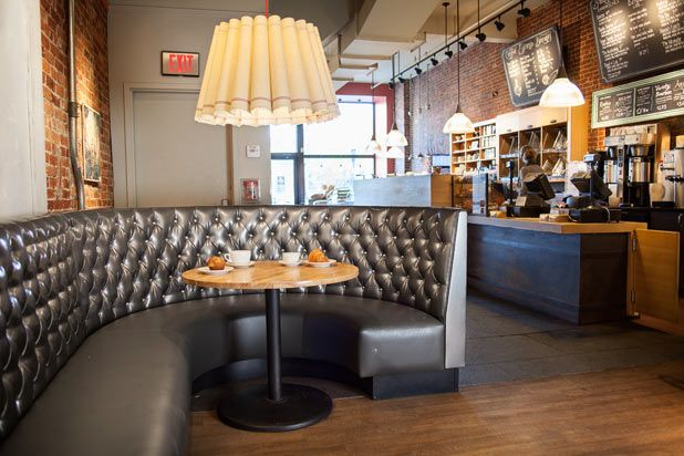 "Pavement--Boston, MA It's no wonder comfy yet cool Pavement was named one of the ""Top 10 Coolest Cafes in America"" by Travel and Leisure. Each of its four locations strives to be a haven for coffee lovers of all kinds"