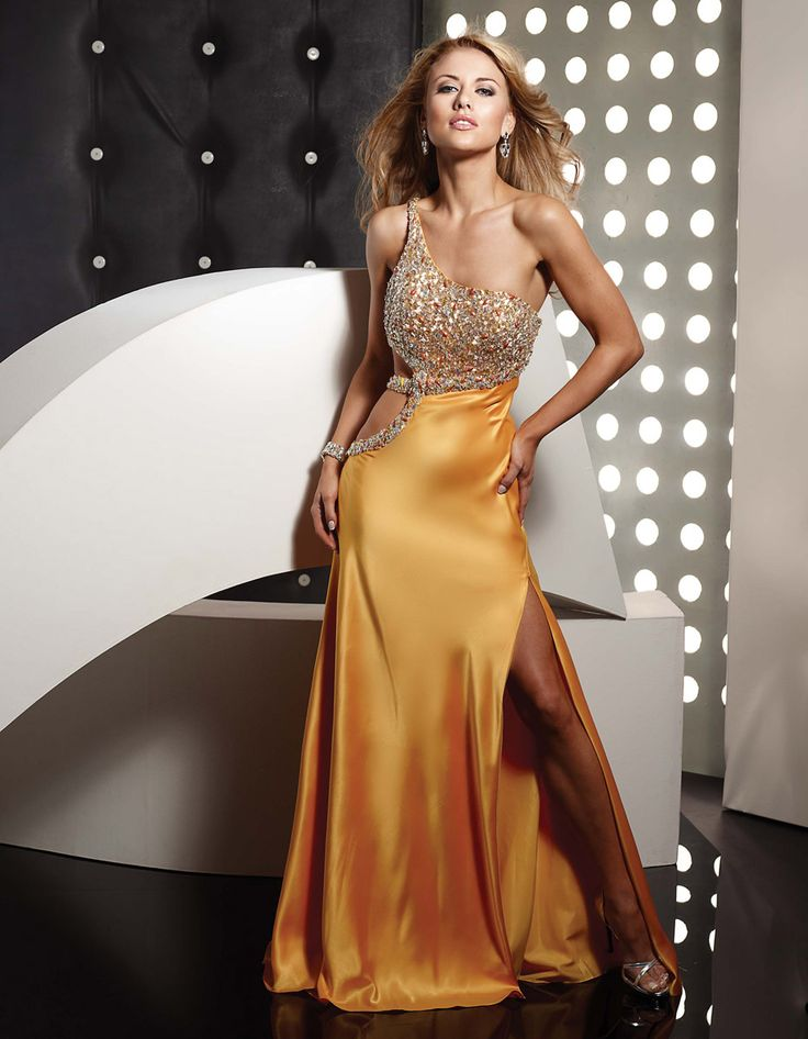 gold-column-one-shoulder-floor-length-lace-up-sweep-brush-train-evening-dresses-with-jewel-