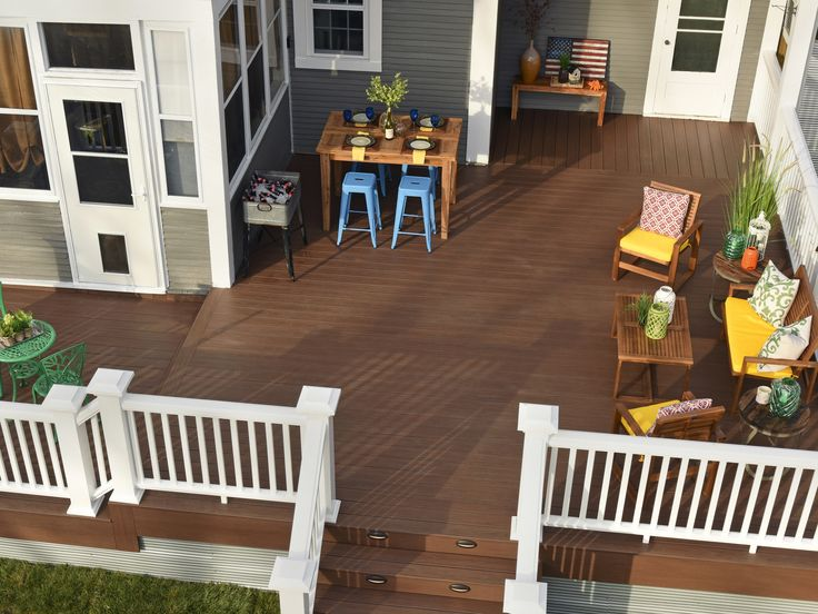 133 best timbertech decks images on pinterest decks for Compare composite decking brands