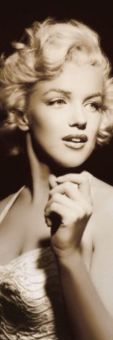 """I bought this for my tv room 62"""" tall. Marilyn Monroe <3"""