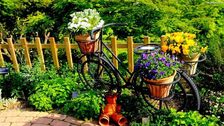 Ogród, Rower
