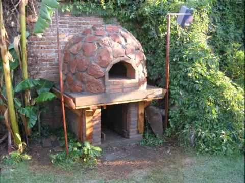 Este horno me gusto así que hice uno parecido¡¡¡¡¡  Horno de barro y piedra (pizza Oven) en Durango