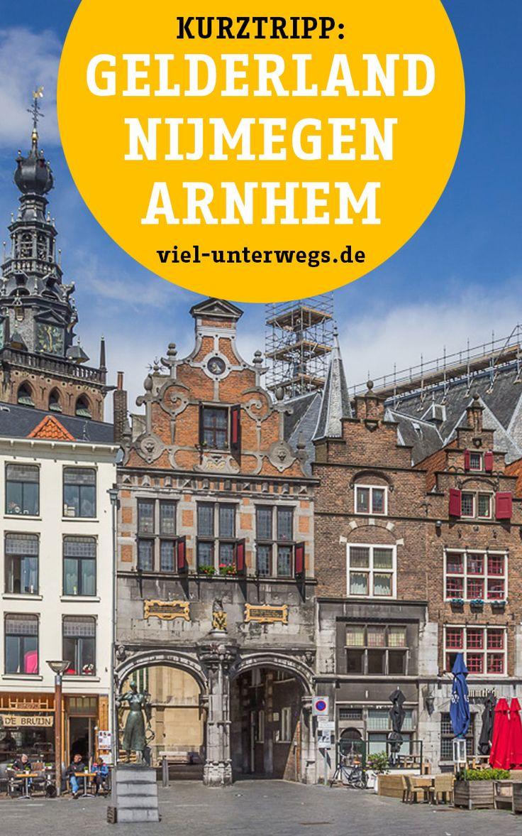 Tipps für ein Wochenende im Gelderland in Holland. Nur 2h entfernt von Köln findest du die Städte Arnhem und Nijmegen.   Alls Tipps findest du hier.