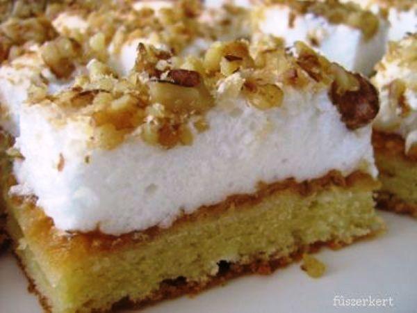 Női szeszély - 'women's whim' pastry