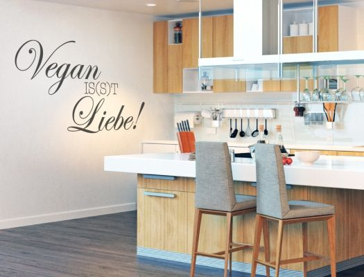 23 best Küchensprüche für Veganer als Wandtattoo images on Pinterest - küchen wandtattoo sprüche