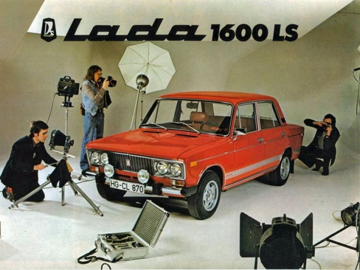 Advertising posters of Soviet cars VAZ (Lada) - 15