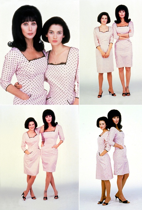 Winona Ryder and cher