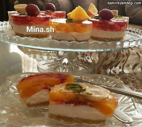 طرز تهیه چیز کیک تک نفره مجلسی و خوشمزه مجله تصویر زندگی Food Videos Desserts Food Drinks Dessert Food