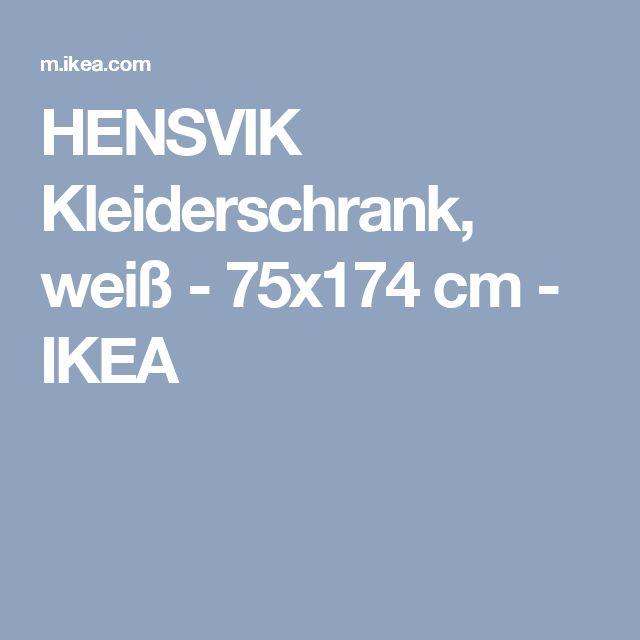 Trend IKEA HENSVIK Kleiderschrank Hier ist viel Platz zum Aufh ngen von Kleidung und zum Unterbringen gefalteter W sche denn es gibt sowohl Kleiderstange