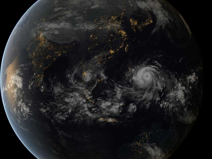 Here's A Jaw-Dropping Satellite Image Of Typhoon Haiyan As It Approached The Philippines 2013