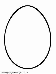 Blank Easter Egg Templates Wielkanoc Easter egg