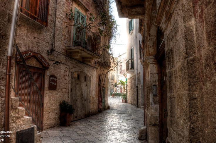 Inside town Polignano a Mare