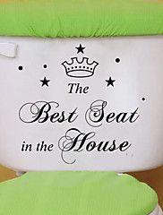muurstickers muur stickers, stijl beste stoel engels woorden&citeert pvc muurstickers