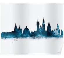 Prague Skyline   #prague #czech #republic #europe #city #skyline #cityscape #landscape #vitus #cathedral #poster #home #office #wall #decor #art #prints #gift #ideas #shopping