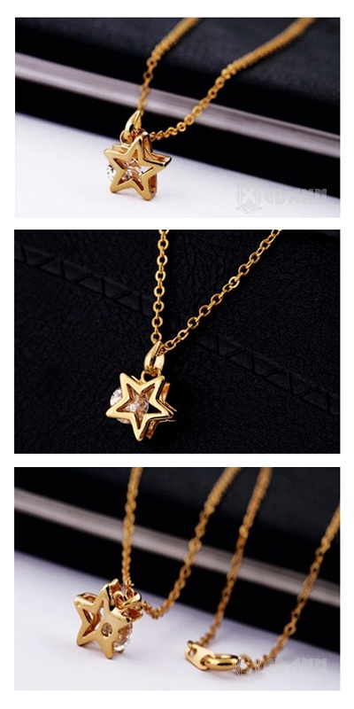 Golden Star Necklace - Php 230