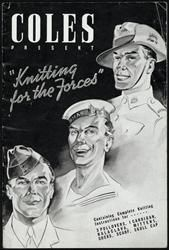 1939-45 Booklet - Knitting for the Forces, Coles museumvictoria.com.au