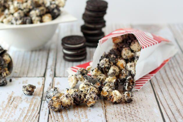 Oreo Popcorn: Epic Snacking