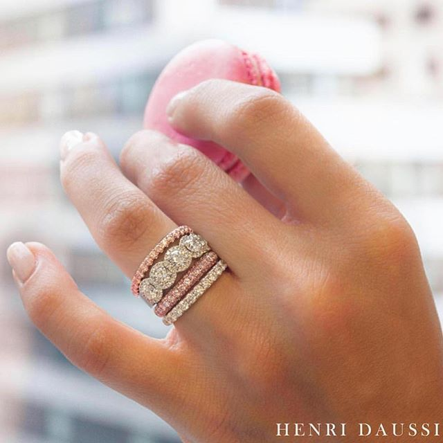 Update your stack with our coveted rose gold bands! #HenriDaussi www.jonesandson.com