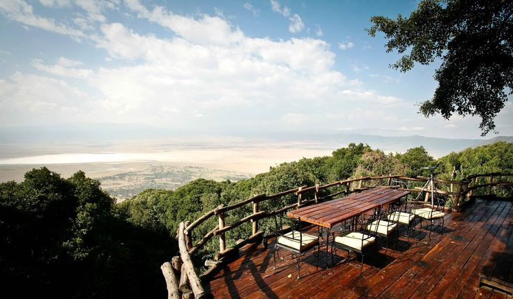 Ngorongoro Crater Lodge – This stunning lodge sits on the edge of the Ngorongoro Crater, a World Heritage Site, and rightfully so. The destination itself is fantastically romantic and inspiring but the lodge takes it to the next level – each suite's exterior is built in the Masaai tribe's rustic mud-and-stick manyatta style.