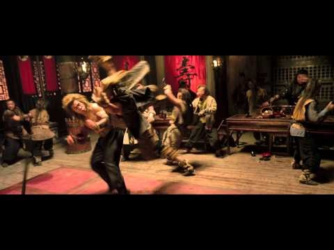 Cung Le stars as the Bronze Lion in the first character trailer for The Rza directed The Man With The Iron Fists.  Cung Le is a cross between a more muscular Bruce Lee and Jackie Chan but with better English language skills.
