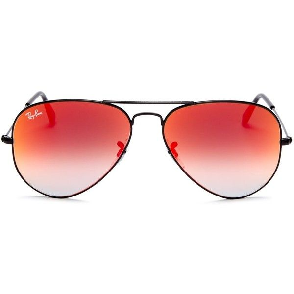 853df95c8 ... ray ban aviator red glass,ray ban classic mirror aviator sunglasses,  found on polyvore ...