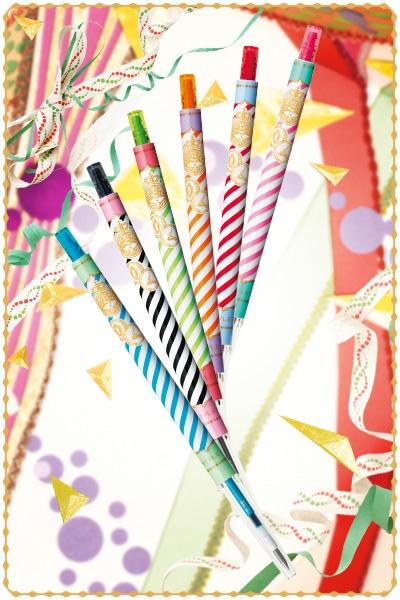 MAJOLICA MAJORCA × STYLE FIT Gel Ink Roller Ball / マジョリカマジョルカ × スタイルフィット ゲルインクボールペンノック式