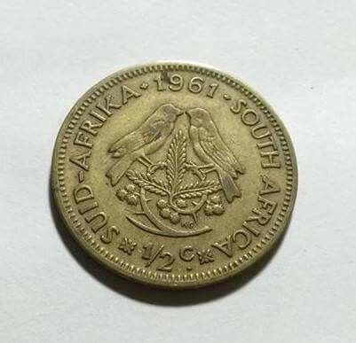 The 1st coin minted in SA after the Pound. I was born 2 days after South Africa became a republic in 1961.