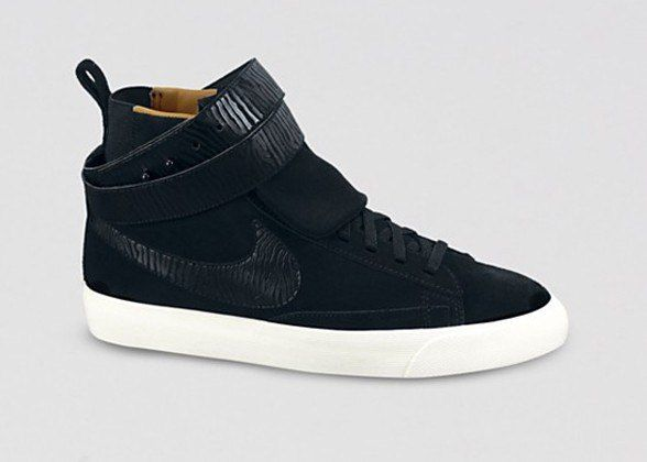 Seven Types Of Sneakers Worn By Fashion Insiders - HIGH TOP SNEAKERS IN BLAZER TWIST SUEDE