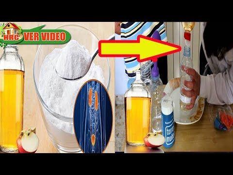 (212) Agua con vinagre y Bicarbonato, un Milagro para la salud!! No Podrás Creer lo que pasa en tu Cuerpo - YouTube