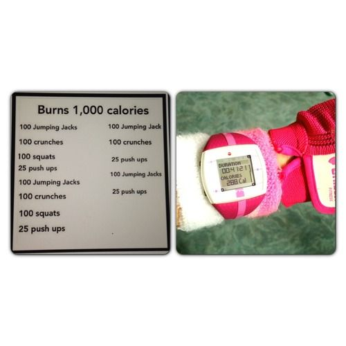 1000 calorie workout.... This will probably be added to my workout schedule before vacation this summer :)